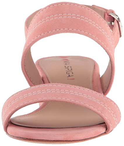 Via Dress Sandal Salmon Suede Spiga Women's Gem BRqwxnBrA