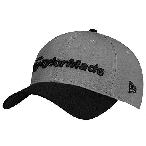 TaylorMade Golf 2017 lifestyle new era 39thirty hat grey/black ()
