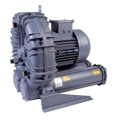 FPZ SCL K04 Regenerative Blowers, 98 cfm (2775 L/min), 208-230/460 VAC, 3 Hp