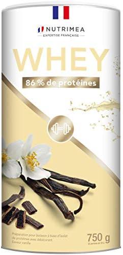 WHEY Proteinpulver Eiweiß Pulver Vanille Molkenprotein-Isolat Protein-Pulver mit Schokoladengeschmack - Für Muskelaufbau, Leistung, Muskelentspannung - 26g Protein Powder pro Portion