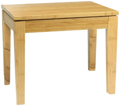 Bamboogle Interiors 40-1418H Brazil Collection Modern Bamboo Nesting Table in Honey Caramel Finish