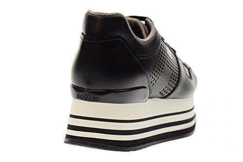 HXW2830AA70KLAB999 H283 Coin Chaussures en Femmes Hogan Baskets des avec Bas pour 1AwPffqzv
