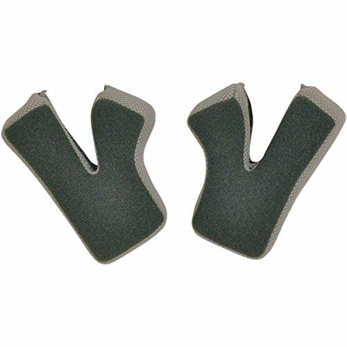 AFX Cheek Pads for FX-17/Y Helmet - M - Orange 01341828 by AFX