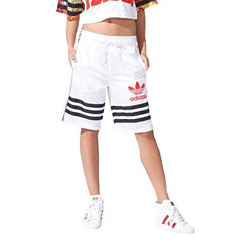 adidas Originals Women's 'Dragon' Shorts 36 White