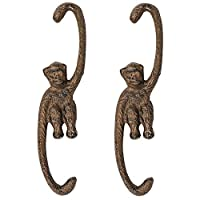 Sungmor Cast Iron Multi-Purpose S-Shape Plant Hanger - Decorative Garden Flower Pot Hanging Hooks