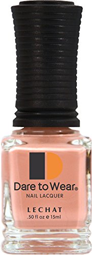 (LECHAT Dare To Wear Nail Lacquer, Peach Charming, 0.5 Ounce)
