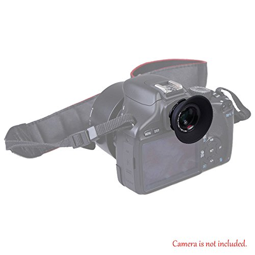 1.08x-1.60x Zoom Viewfinder Eyepiece Magnifier for Canon Nikon - 3