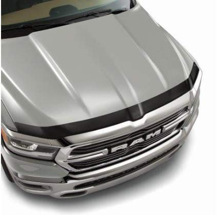 Mopar 82215476 Ram 1500 Matte Black Front Air Deflector ()