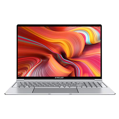 "🥇 TECLAST F15 Ordenador Portátil 15.6"" Notebook Laptop Ultradelgado 8GB RAM 256GB SSD Window 10"