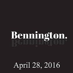 Bennington, April 28, 2016