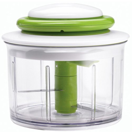 Chef'n VeggiChop Hand-Powered Food Chopper (Arugula)