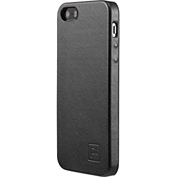 PT Platinum (Made by Seidio) Genuine Leather Case for Apple iPhone 5 and 5s - Black
