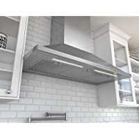Zephyr ZSP-E48B 1200 CFM 48 Inch Wide Wall Mounted Range Hood from the Siena Pro, Stainless Steel