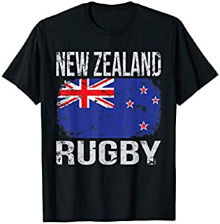 Birthday Gift New Zealand Rugby, New Zealander Flag  Long Sleeve Funny Shirt