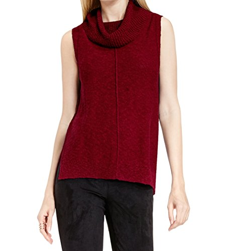 Two by Vince Camuto Womens Small Cowl Neck Sweater Red S (Cowl Sweater Vince Neck)