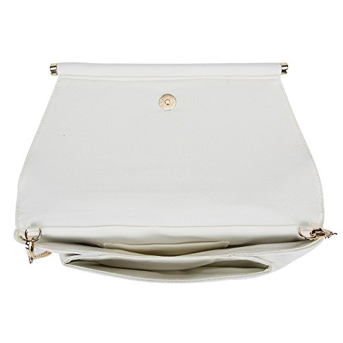 Hautefordiva blanc grand pour Pochette blanc femme rv8r0nZ