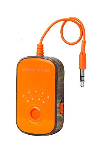 Real Mp3 - SCOSCHE TuneIn Universal FM Stereo Transmitter with Built-In 3.5mm Aux Cable for Cell Phones, MP3 Players, iPods and More Music Devices - Real Tree Xtra Camo (FMT4RT)