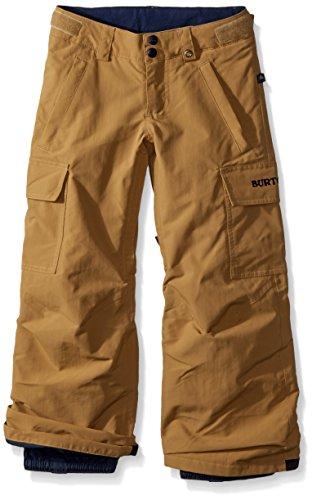 (Burton Boys' Exile Cargo Snow Pant, Kelp W18, X-Small)