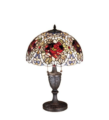 (24 Inch H Renaissance Rose Table Lamp Table Lamps)