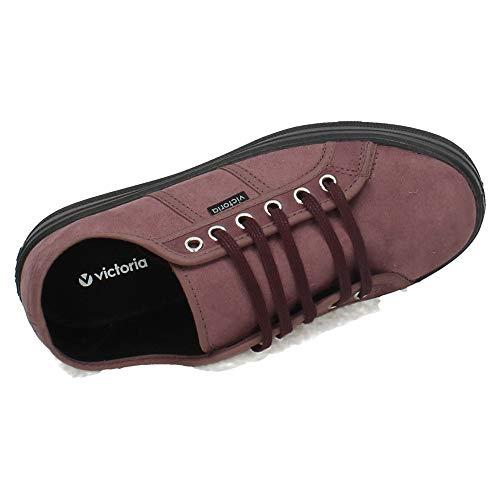 Antelina Donna Sneaker Victoria Blucher Prugna Plataforma ATw44P