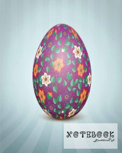 Notebook: Journal Dot-Grid,Graph,Lined,Blank No Lined : The Easter egg with an Ukrainian folk pattern ornament : Notebook Journal Diary, 120 pages, 8