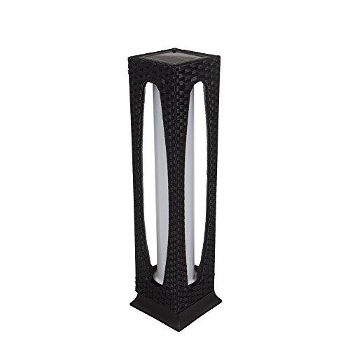 Outdoor Floor Lamp Solar Powered LED Light Decorative Rattan Patio Garden Light (Type 3)