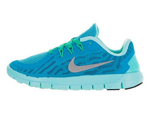 Nike Kids Gratuit 5.0 (grand) Lagon Bleu
