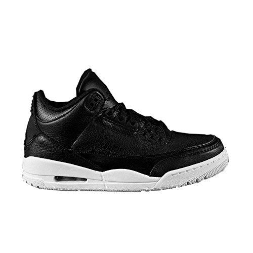 Nike Air Jordan 3 Retro Bg Boys Basketball-Shoes 398614-020_6Y - Black/Black White (Air Box Shoe Nike Jordan)