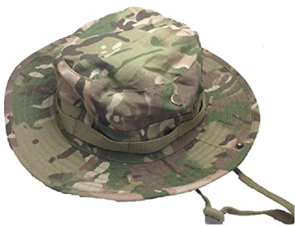 Amazon.com  Multicam boonie hat jungle camouflage hat multi one size ... d388aec2e13