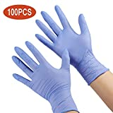 Nitrile Gloves Kids Gloves Disposable, Nitrile Gloves for 4-10 Years - Latex Free, Food Grade, Powder Free - for Crafting, Painting, Gardening, Cooking, Cleaning