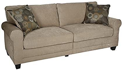 Bon Serta RTA Copenhagen Collection 73u0026quot; Sofa In Marzipan