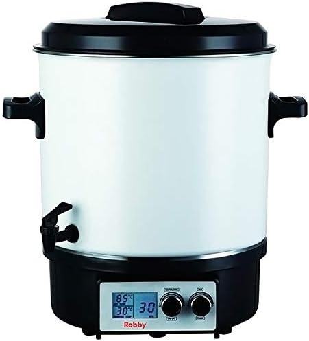 Robby - steri pro lcd - Stérilisateur électrique avec robinet et minuteur 27l 1800w écran lcd