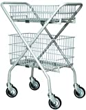 Lumex Lumex Versacart Folding Utility Cart / Wire Basket - Case of 2 - 7020A - Wire Basket, Small (***Cart Not Included***)