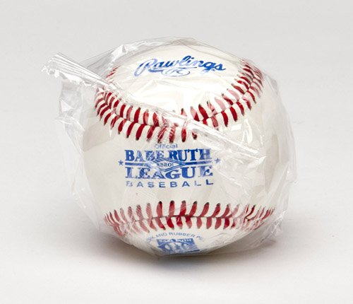 Rawlings Raised Seam Competition Grade Babe Ruth League Baseballs, 12 Count, RBRO1
