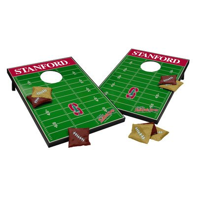 NCAA Cornhole Game Set NCAA Team: Stanford Cardinals by Tailgate Toss