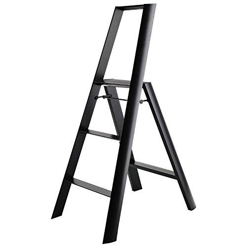 Hasegawa Ladders  Step Ladder, - Black Step