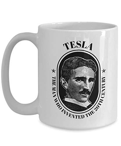 - Nikola Tesla Mug Coil Inventor Novelty Coffee Cup Gift