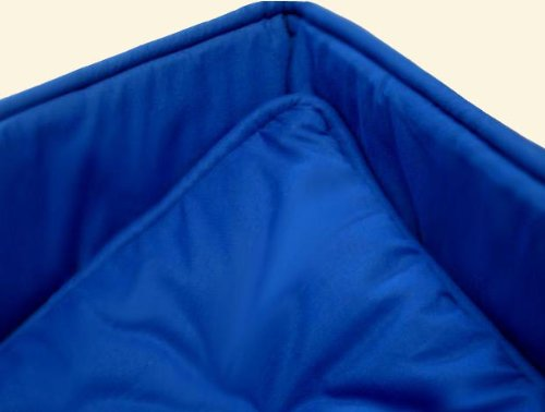 SheetWorld Cradle set - Solid Royal Blue Cradle Set - Made In USA
