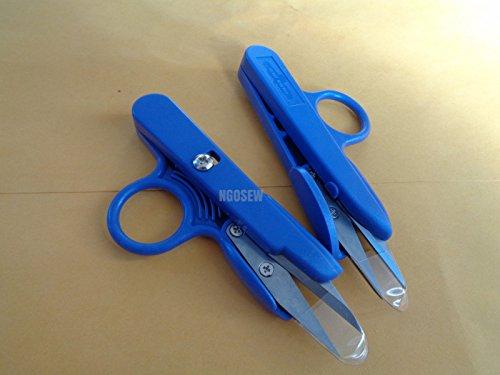 [해외]NGOSEW 2 PC 블루 골든 이글 샤프 포인트 퀵 클립 경량 스피드 커팅 가위/NGOSEW 2 PCS Blue Golden Eagle Sharp Point Quick Clip Lightweight Speed Cutting Scissor