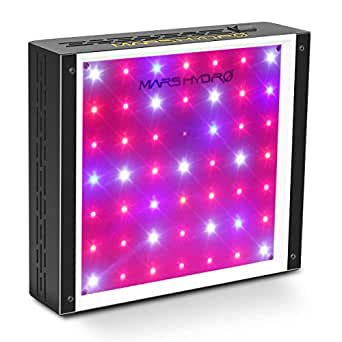 MARS HYDRO LED Grow Light 300W Full Spectrum for Hydroponic Indoor Plants Growing Veg and Flower