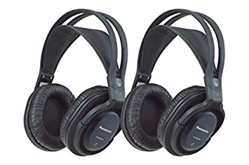 Panasonic RP-WF820WE-K - Auriculares inalámbricos doble: Amazon.es: Electrónica