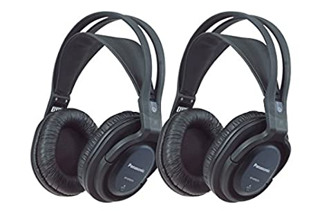 Panasonic RP-WF820WE-K - Auriculares inalámbricos doble
