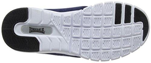 Lonsdale Propus, Zapatillas Deportivas Para Interior Para Mujer Azul (Navy/mint)