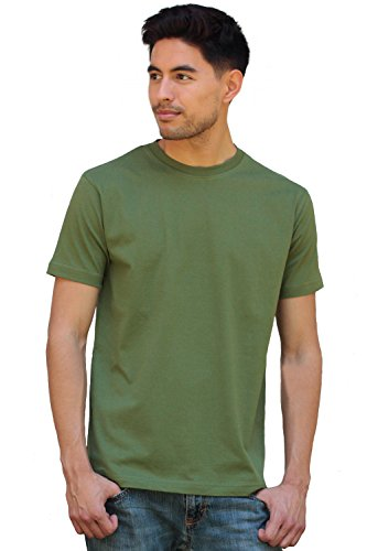 (Olympian Organic Cotton Fair Trade T Shirt - Forest Green 3XL)
