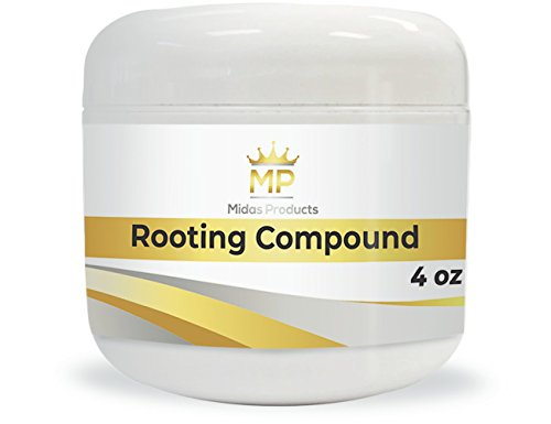 Rooting Gel – IBA Rooting Hormone- Ideal Cloning Gel for Strong Clones - The Key to Plant cloning - Midas Products Rooting Gel Hormone for cuttings 4oz - for Professional and Home Based Growers