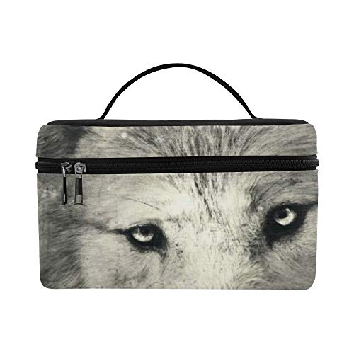 Awesome Halloween Wallpaper With Mystical Wolf Pattern Lunch Box Tote Bag Lunch Holder Insulated Lunch Cooler Bag For Women/men/picnic/boating/beach/fishing/school/work for $<!--$22.00-->