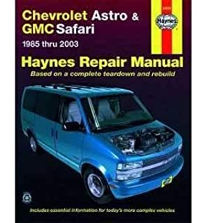 Chevrolet astro gmc safari mini van 1985 2005 haynes repair haynes repair manual for chevy astro van number 24010 fandeluxe Gallery