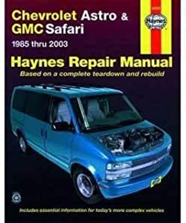 general motors astro safari 1985 2005 repair manual chilton s total rh amazon com 2003 GMC Safari Interior Used 2003 GMC Safari