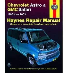amazon com haynes repair manual for chevy astro van number 24010 rh amazon com 2005 GMC Safari Rear Bumper 2005 GMC Safari Engine View