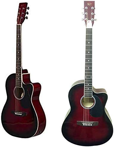 Guitarra acústica clásica de tamaño completo 4/4, 40 pulgadas, 6 ...